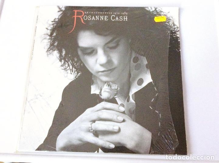 ROSANNE CASH. RETROSPECTIVE 1079-1989. VINILO LP (Música - Discos de Vinilo - Maxi Singles - Country y Folk)