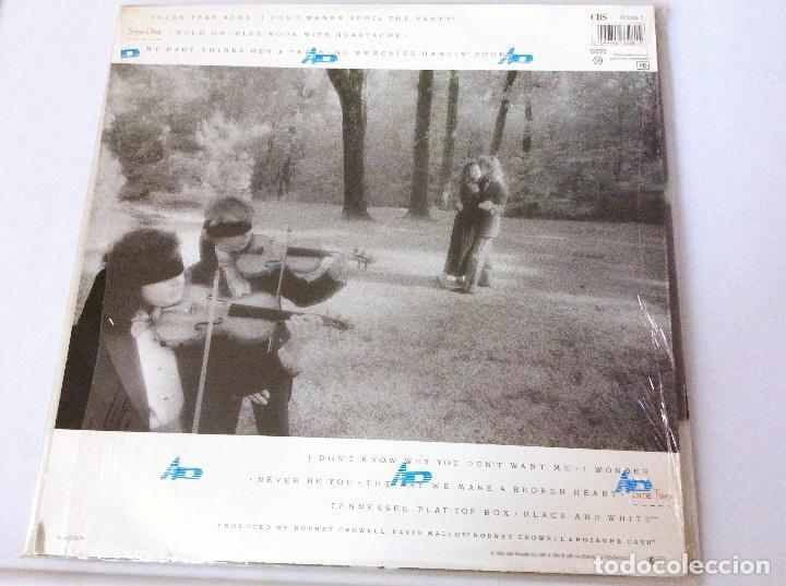Discos de vinilo: Rosanne Cash. Retrospective 1079-1989. Vinilo Lp - Foto 2 - 104291231