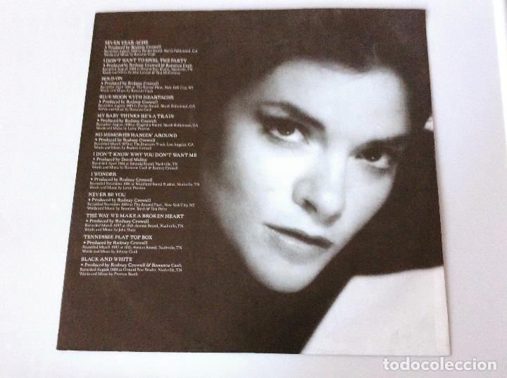 Discos de vinilo: Rosanne Cash. Retrospective 1079-1989. Vinilo Lp - Foto 4 - 104291231