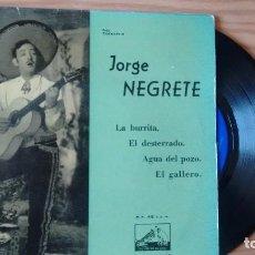 Discos de vinilo: E P (VINILO) DE JORGE NEGRETE AÑOS 50. Lote 104295899