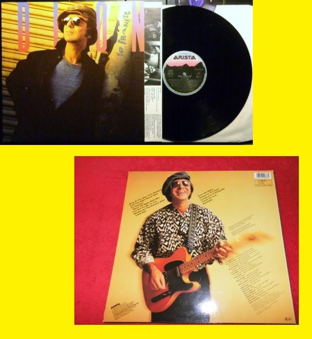 DION & THE BELMONTS - YO FRANKIE - LOU REED, PATTY SMITH,P SIMON, DOO-WOP - ORG EDT + INSERTO, EX (Música - Discos - LP Vinilo - Pop - Rock Extranjero de los 50 y 60)
