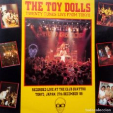 Discos de vinilo: THE TOY DOLLS- TWENTY TUNES LIVE FROM TOKYO- SPAIN LP 1990- VINILO EXC. ESTADO.. Lote 104298663
