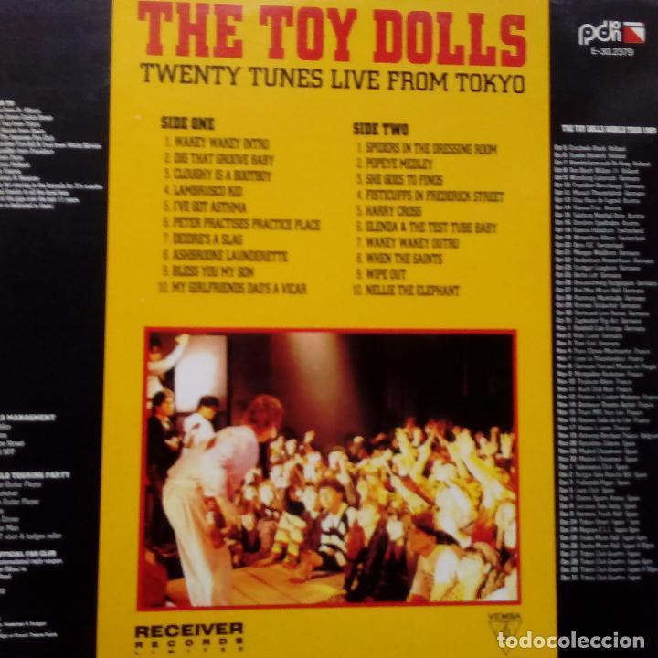 Discos de vinilo: THE TOY DOLLS- TWENTY TUNES LIVE FROM TOKYO- SPAIN LP 1990- VINILO EXC. ESTADO. - Foto 2 - 104298663