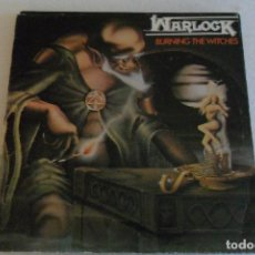 Discos de vinilo: WARLOCK - BURNING THE WITCHES 1987. Lote 104298847