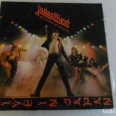 Discos de vinilo: JUDAS PRIEST - UNLEASHED IN THE EAST LIVE IN JAPAM 1979. Lote 104299531