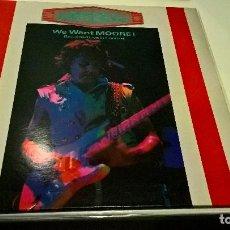 Discos de vinilo: MUSICA LP: GARY MOORE WE WANT MOORE DOBLE MUY NUEVO HEAVY VINYL. Lote 104302707