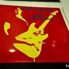 Discos de vinilo: MUSICA LP: GARY MOORE LIVE AT TEH MARQUEE HEAVY VINYL. Lote 104304631