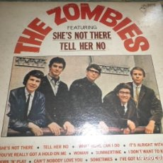 Discos de vinilo: THE ZOMBIES - FEATURING SHE´S NOT THERE LP - ORIGINAL U.S.A. . PARROT 1965 !!!MONO!!! DEBUT ALBUM. Lote 104308763