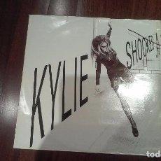 Discos de vinilo: KYLIE MINOGUE- SHOCKED.MAXI ESPAÑA. Lote 104311167