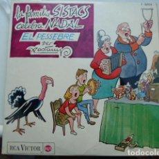 Discos de vinilo: VALENTI CASTANYS-LA FAMILIA SISTACS CELEBRO NADAL-. Lote 198419252