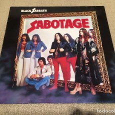 Discos de vinilo: BLACK SABBATH -SABOTAGE- (1985) LP DISCO VINILO. Lote 104316175