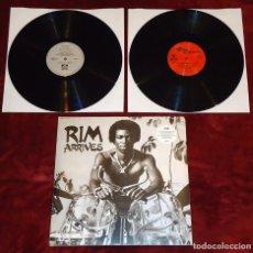 Discos de vinilo: RIM KWAKU OBENG - RIM ARRIVES - LP + 12'' [BBE, 2015]. Lote 104319739