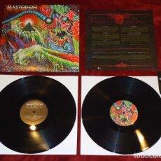 Discos de vinilo: MASTODON - ONCE MORE 'ROUND THE SUN - 2XLP [REPRISE RECORDS, 2014]. Lote 104320063