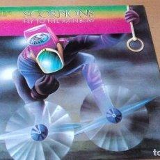 Discos de vinilo: SCORPIONS FLY TO THE RAINBOW LP SPAIN 1985. Lote 104323327