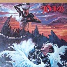 Discos de vinilo: DIO HOLY DIVER LP SPAIN 1983 CON INSERTO. Lote 104323395