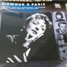 Discos de vinilo: L'AMOUR A PARIS LP INGLATERRA 2016.PRECINTADO /2. Lote 104325592
