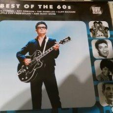 Discos de vinilo: BEST OF THE 60'S LP INGLATERRA 2016 /2.PRECINTADO.DYLAN.PRESLEY.TROGGS.SHAPIRO. Lote 104326383