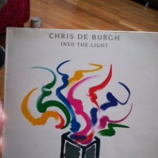 Discos de vinilo: CHRIS DE BURGH INTO THE LIGHT. Lote 104327132