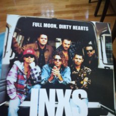 Discos de vinilo: FULL MOON DIRTY HEARTS INXS. Lote 104328256