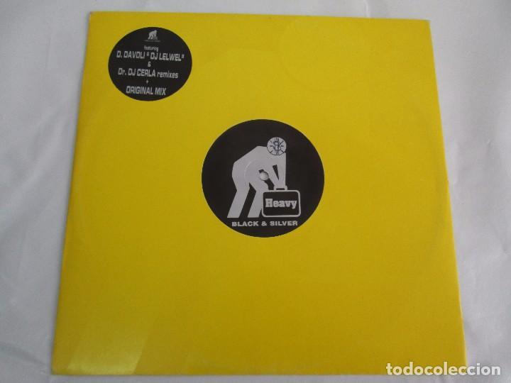 Discos de vinilo: HOLE IN ONE. THE LIFE´S TOO SHORT. BLACK AND SILVER. 1996. VER FOTOGRAFIAS ADJUNTAS - Foto 2 - 104328823