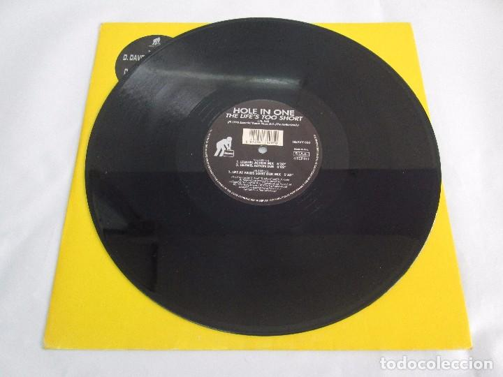 Discos de vinilo: HOLE IN ONE. THE LIFE´S TOO SHORT. BLACK AND SILVER. 1996. VER FOTOGRAFIAS ADJUNTAS - Foto 5 - 104328823