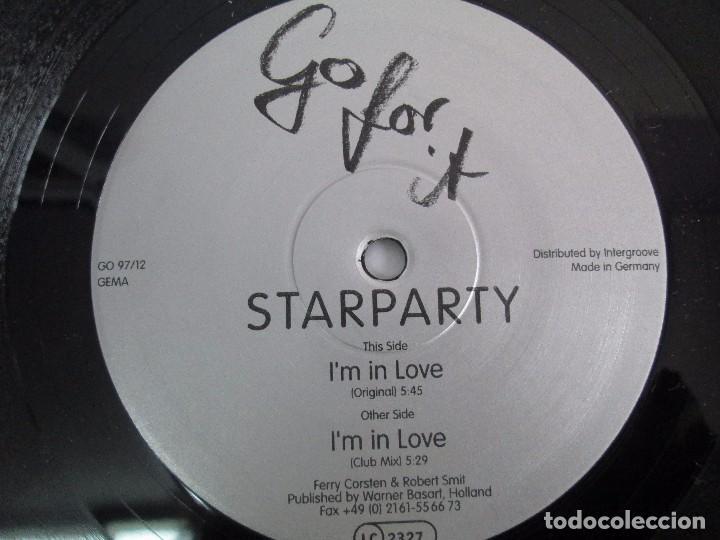 Discos de vinilo: STARPARTY. GO FOR IT. I´M IN LOVE. EP VINILO. VER FOTOGRAFIAS ADJUNTAS - Foto 6 - 104329123
