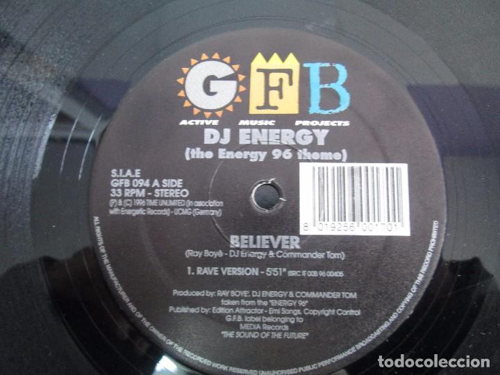 Discos de vinilo: GFB. ACTIVE MUSIC PROJECTS. DJ ENERGY. EP VINILO. MEDIA RECORDS 1996. VER FOTOGRAFIAS - Foto 4 - 104329483