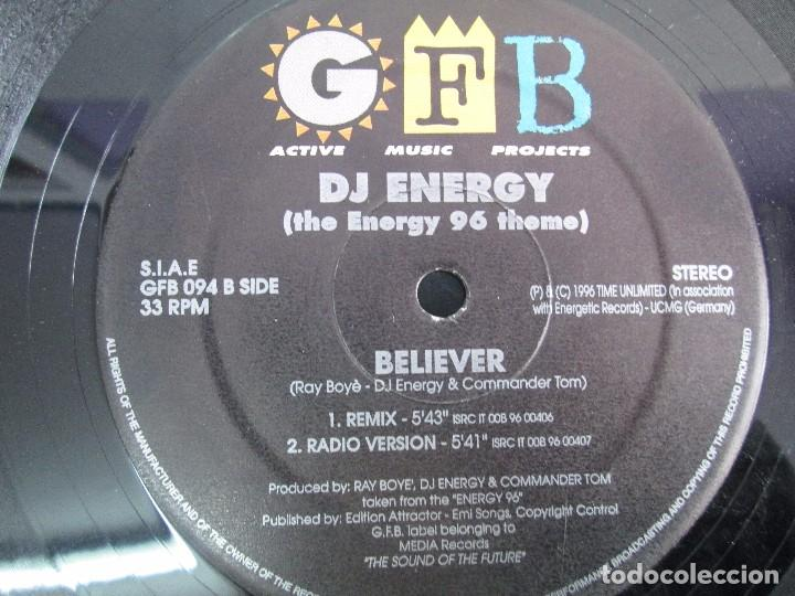 Discos de vinilo: GFB. ACTIVE MUSIC PROJECTS. DJ ENERGY. EP VINILO. MEDIA RECORDS 1996. VER FOTOGRAFIAS - Foto 6 - 104329483