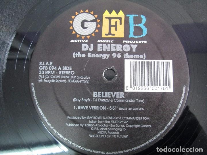 Discos de vinilo: GFB. ACTIVE MUSIC PROJECTS. DJ ENERGY. EP VINILO. MEDIA RECORDS 1996. VER FOTOGRAFIAS - Foto 8 - 104329483