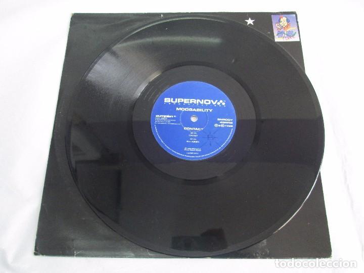 Discos de vinilo: SUPERNOVA. MOOGABILITY. CONTACT. EP VINILO. 1996. VER FOTOGRAFIAS ADJUNTAS - Foto 5 - 104329851