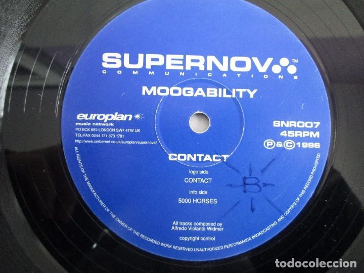 Discos de vinilo: SUPERNOVA. MOOGABILITY. CONTACT. EP VINILO. 1996. VER FOTOGRAFIAS ADJUNTAS - Foto 6 - 104329851