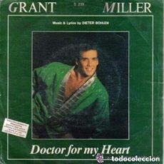 Discos de vinilo: GRANT MILLER - DOCTOR FOR MY HEART - SINGLE PROMO MAX MUSIC 1987. Lote 104330839