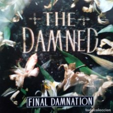 Disques de vinyle: THE DAMNED- FINAL DAMNATION - UK LP 1989- COMO NUEVO.. Lote 104347019