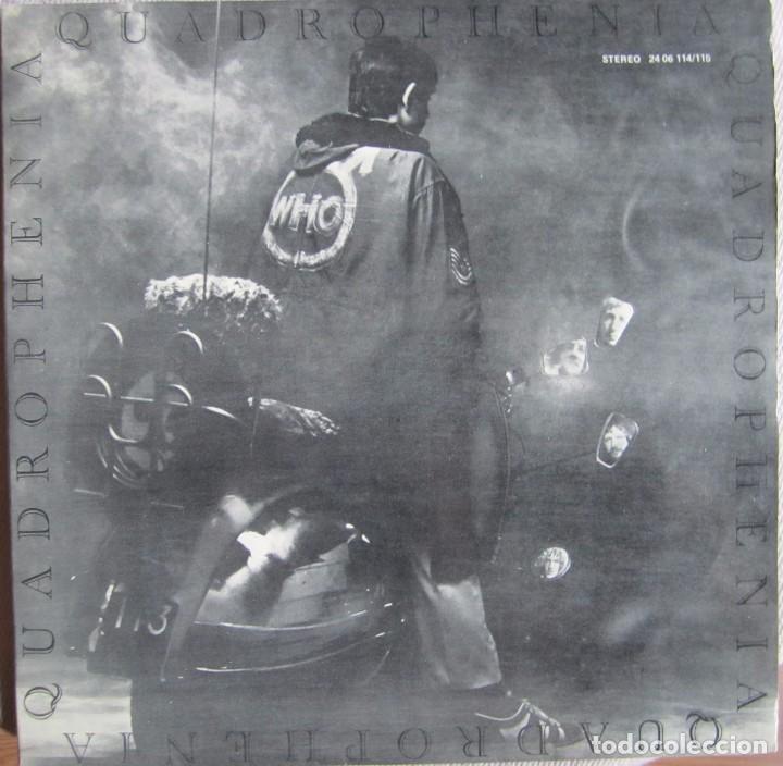 WHO, THE: QUADROPHENIA (Música - Discos - LP Vinilo - Pop - Rock Extranjero de los 50 y 60)