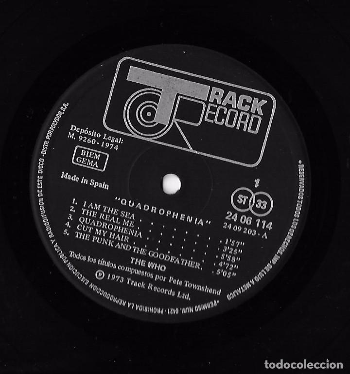 Discos de vinilo: WHO, THE: QUADROPHENIA - Foto 6 - 104347207