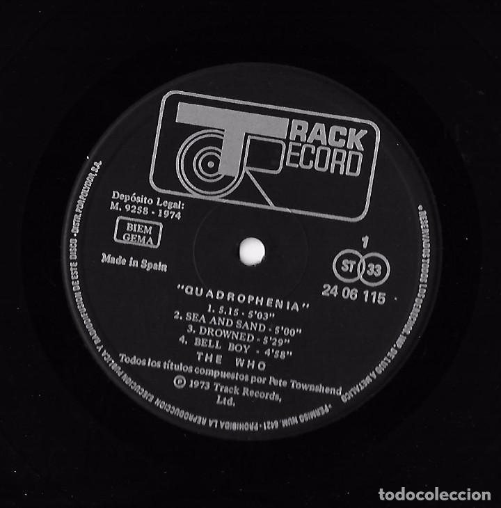 Discos de vinilo: WHO, THE: QUADROPHENIA - Foto 7 - 104347207