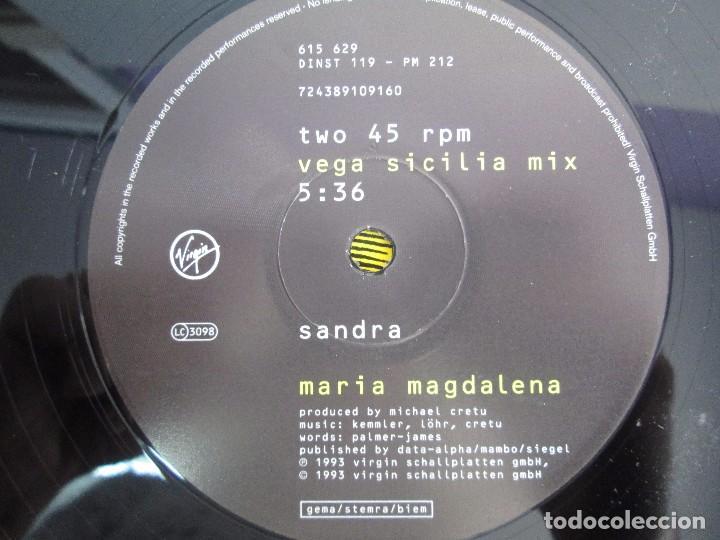 Discos de vinilo: MARIA MAGDALENA. CLUBMIX. VEGA SICILIA MIX. EP VINILO. VIRGIN 1993. VER FOTOGRAFIAS ADJUNTAS - Foto 6 - 104353723