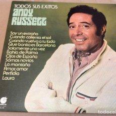 Discos de vinilo: ANDY RUSSELL. TODOS SUS ÉXITOS. SOY UN EXTRAÑO ETC. IMPACTO 1977. Lote 104353843