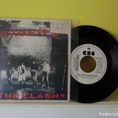 Discos de vinilo: THE CLASH,( LOS 7 MANIFICOS ) 1980 SINGLE 53. Lote 104354355