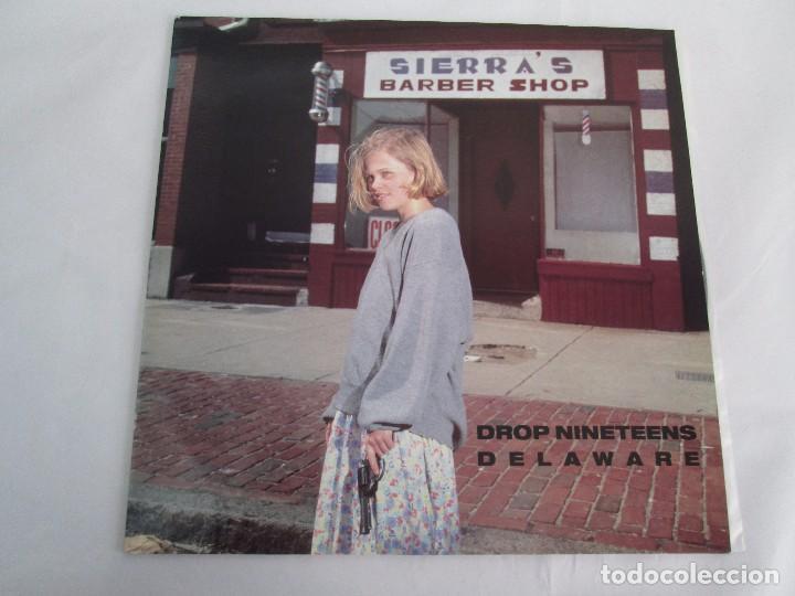 Discos de vinilo: DROP NINETEENS. DELAWARE. LP VINILO. HUT RECORDINGS 1992. VER FOTOGRAFIAS ADJUNTAS - Foto 2 - 203639128