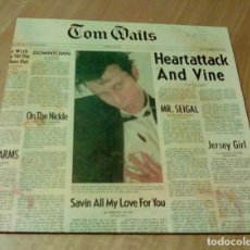 Discos de vinilo: TOM WAITS - HEARTATTACK AND VINE (LP REEDICIÓN) NUEVO. Lote 110295848