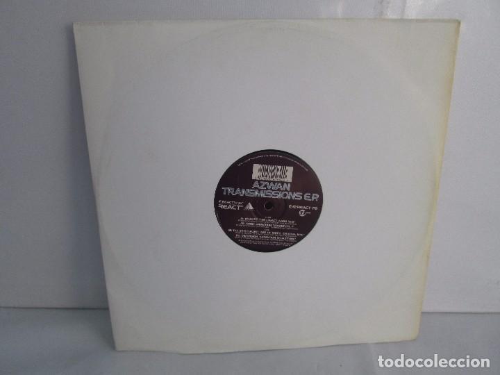 AZWAN TRANSMISSIONS E.P VINILO. REACT MUSIC 1996. VER FOTOGRAFIAS ADJUNTAS (Música - Discos - Singles Vinilo - Electrónica, Avantgarde y Experimental)