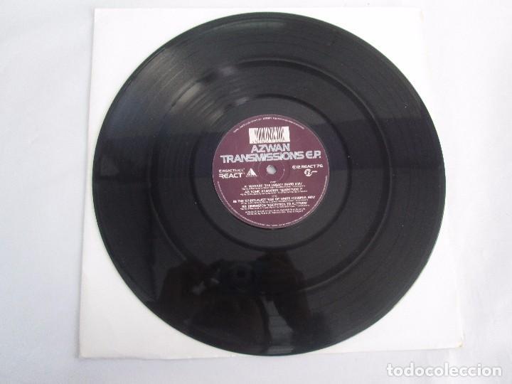 Discos de vinilo: AZWAN TRANSMISSIONS E.P VINILO. REACT MUSIC 1996. VER FOTOGRAFIAS ADJUNTAS - Foto 3 - 104357095