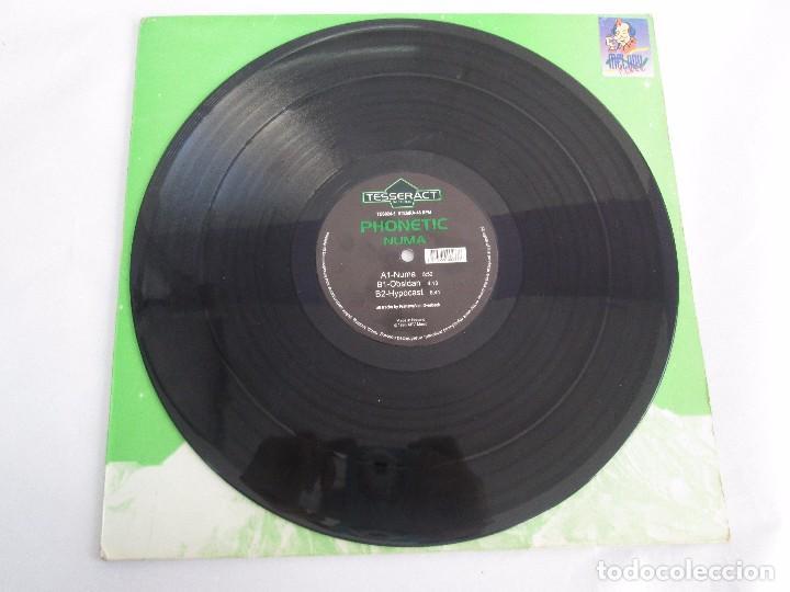 Discos de vinilo: TESSERACT RECORDS. PHONETIC NUMA. E.P. VINILO. 1996. VER FOTOGRAFIAS ADJUNTAS - Foto 3 - 104360251