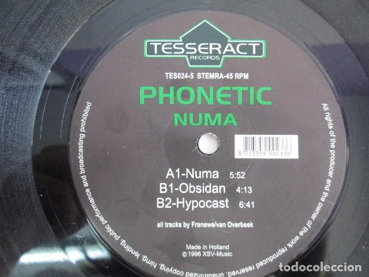 Discos de vinilo: TESSERACT RECORDS. PHONETIC NUMA. E.P. VINILO. 1996. VER FOTOGRAFIAS ADJUNTAS - Foto 4 - 104360251