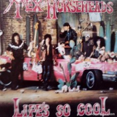 Discos de vinilo: TEX & THE HORSEHEADS - LIFE´S SO COOL- LP SPAIN 1985- EXC. ESTADO.. Lote 104360603