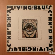 Discos de vinilo: CANNED HEAT - LIVING THE BLUES 2 LPS - UNITED ARTISTS RECORDS. Lote 104364411