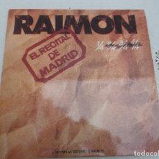 Discos de vinilo: RAIMON EL RECITAL DE MADRID MOVIEPLAY 2 LPS DOBLE PORTADA CON LIBRETO 1976. Lote 104370075
