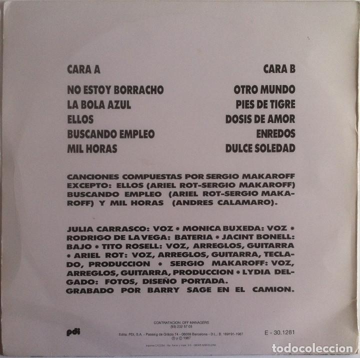 Discos de vinilo: Sergio Makaroff - La buena vida - LP PDI 1987 Edición española original - Foto 2 - 104372911