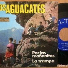 Discos de vinilo: LOS AGUACATES `POR LAS MAÑANITAS´ 1967. Lote 104373435